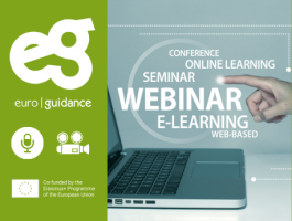 """Available webinar recording: """"Developing Career Guidance and Counselling services through Erasmus+ projects- experiences from practices"""""""
