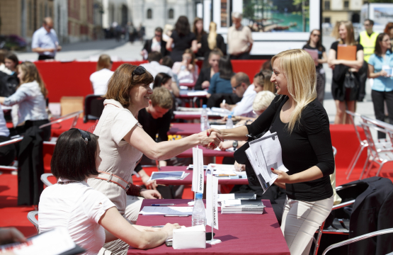 Speed dating with Employers