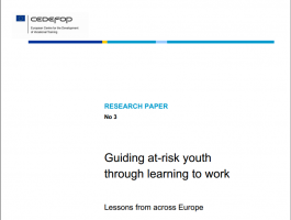 Guiding at-risk youth through learning to work – Lessons from across Europe