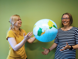 International experience helps students choose their future