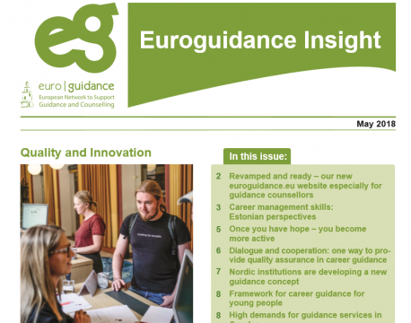 Euroguidance Insight Newsletter (May 2018)
