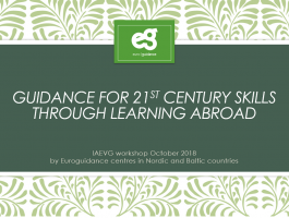 Results from IAEVG conference 2018: Guidance for 21st century skills through learning abroad
