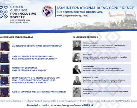 Invitation to the 43rd INTERNATIONAL IAEVG CONFERENCE