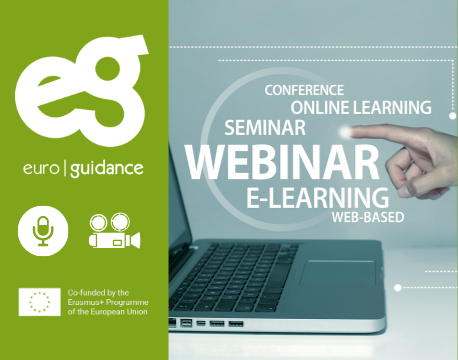 Euroguidance webinars for guidance practitioners: Online career guidance tools and activities – examples of good practices from Europe